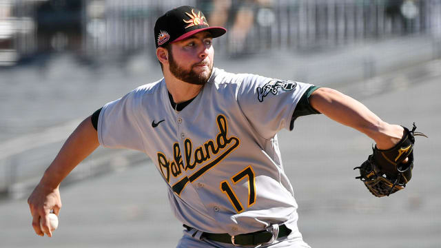 A's Criswell takes big step in Fall League