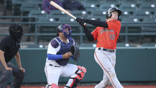 Stowers back on O's radar after big year