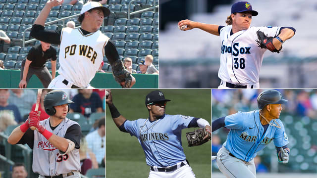 Mariners instructional league prospect report