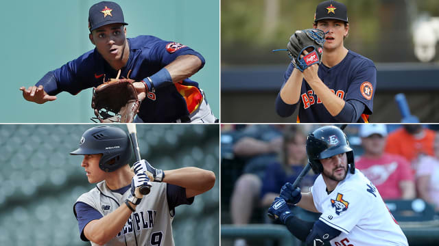 Astros prospect report from alternate site