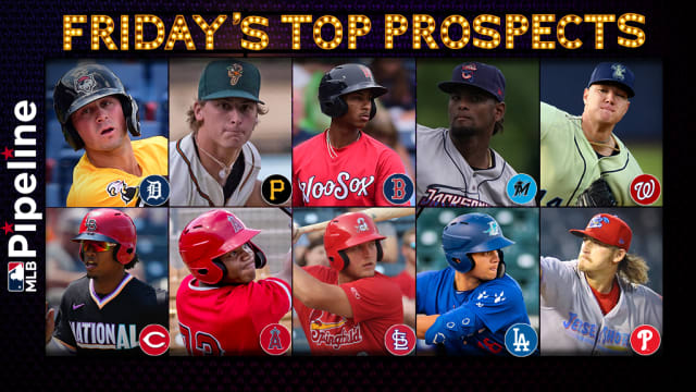 Friday's top prospect performers