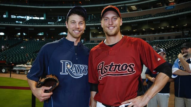 Why Astros chose Pence, Zobrist in same Draft