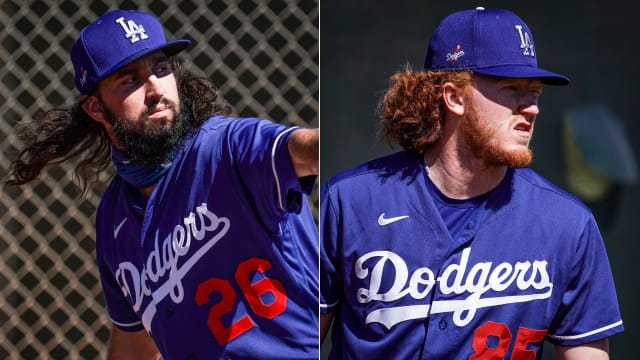 Notes: Dodgers' young arms impress; UT role