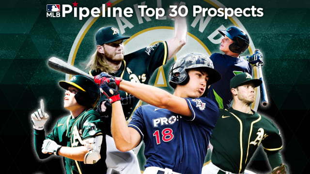 Here are the A's 2021 Top 30 prospects