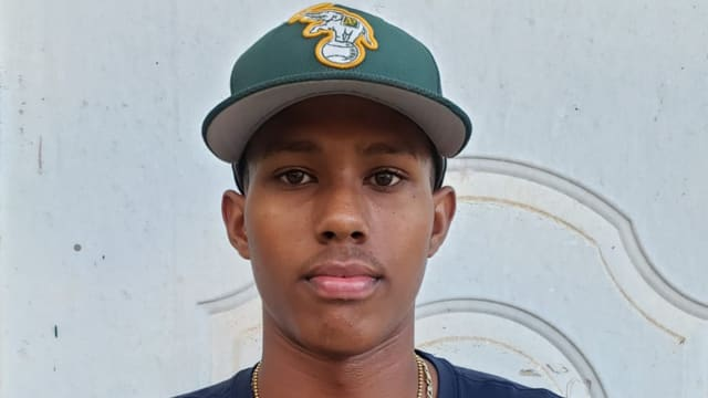 A's to land toolsy 17-year-old Dominican OF