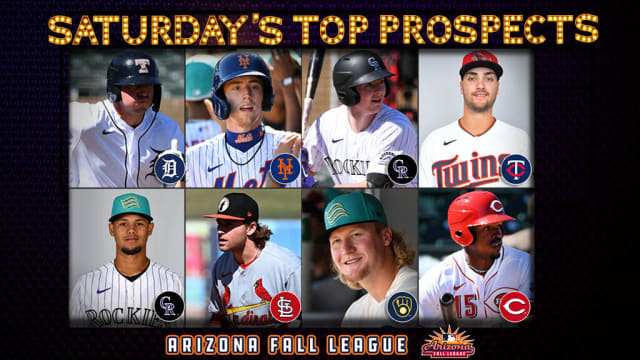 Saturday's top AFL prospect performers