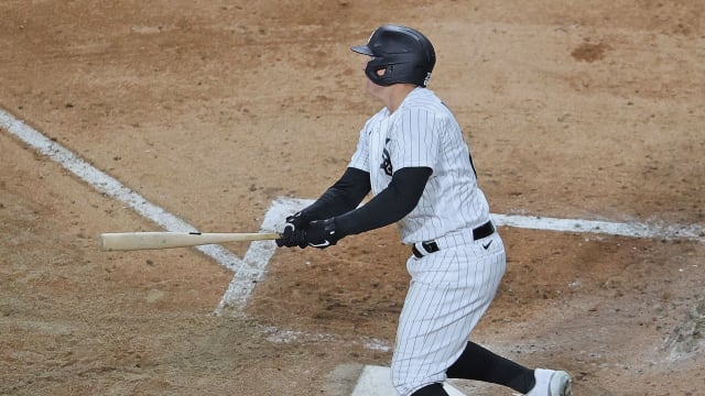 Vaughn savors 1st HR: 'Like I was on moon'