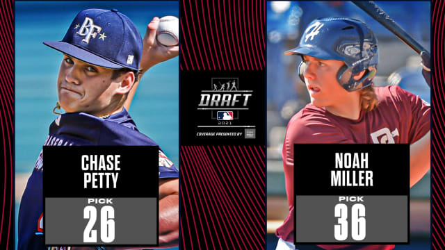 Twins thrilled to land Petty, Miller on Day 1
