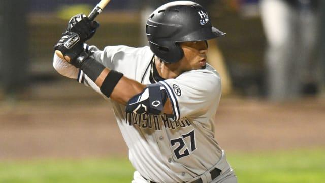 Yanks' Peraza tallies five-hit night