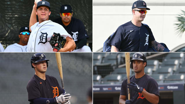 Tigers instructional league prospect report