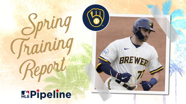 Brewers Minor League Spring Training report