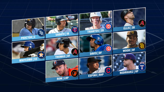 Here's the final Prospect Team of the Week
