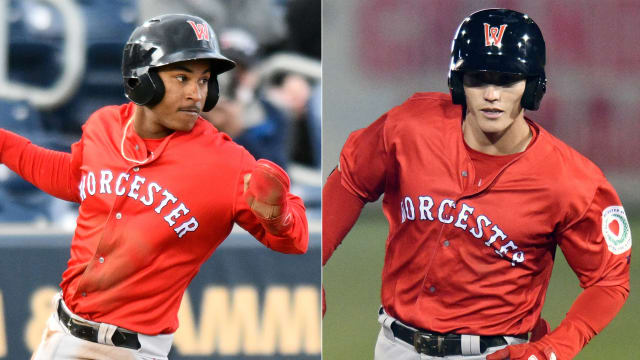 Downs and Duran power up for WooSox