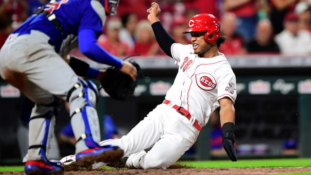 No. 4 prospect Barrero back up with Reds