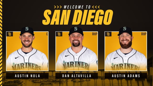 Padres, Mariners complete 7-player deal