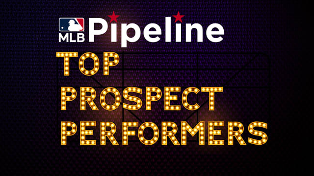 Saturday's top prospect performers