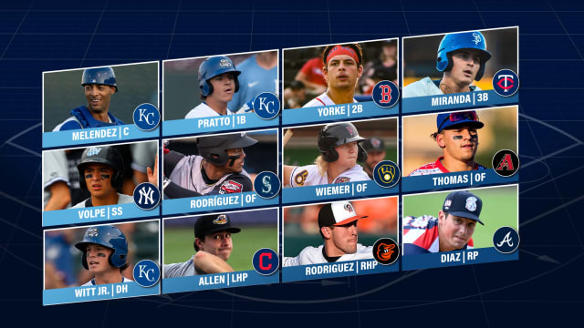 Here's the 2021 Prospect Team of the Year