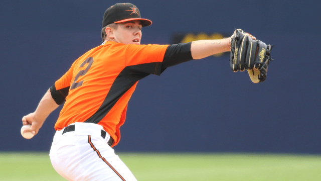 Hall fans 10 in debut for Double-A Baysox
