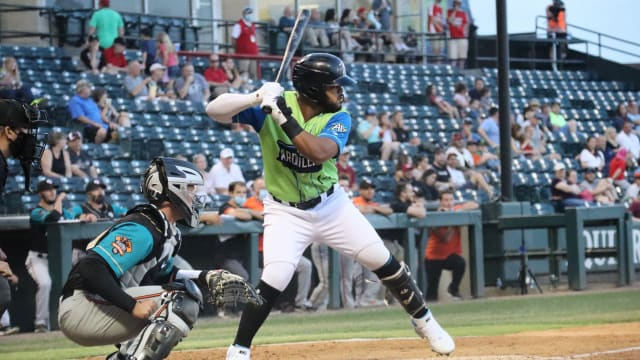 Heliot Ramos homers, drives in four runs