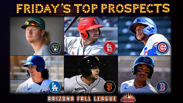 Friday's top AFL prospect performers