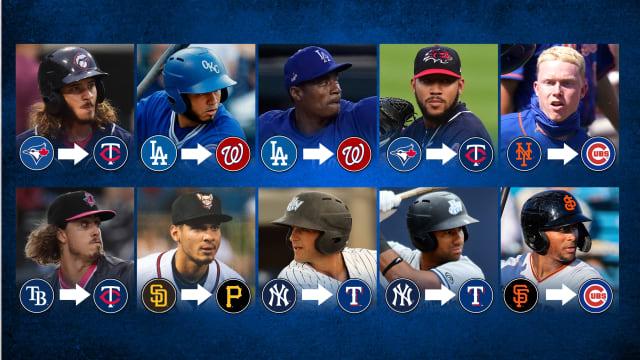 Ranking 41 prospects dealt prior to Deadline