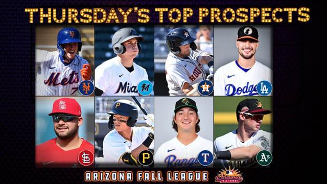 Thursday's top AFL prospect performers