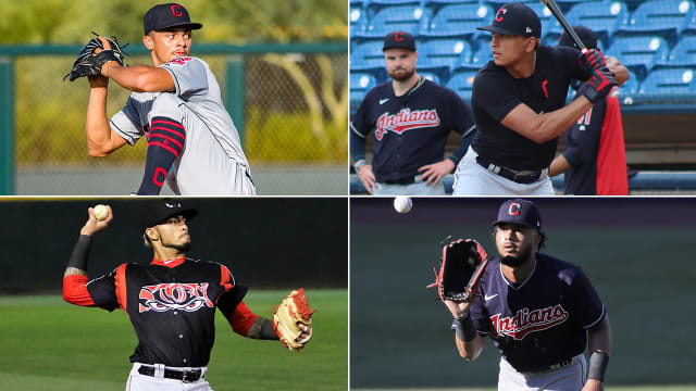 Indians instructional league prospect report