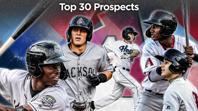 Here are the D-backs' 2020 Top 30 Prospects