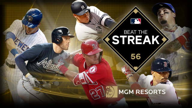 buy online 09e62 92ea0 Beat the Streak 2019 current leader chasing DiMaggio | MLB.com