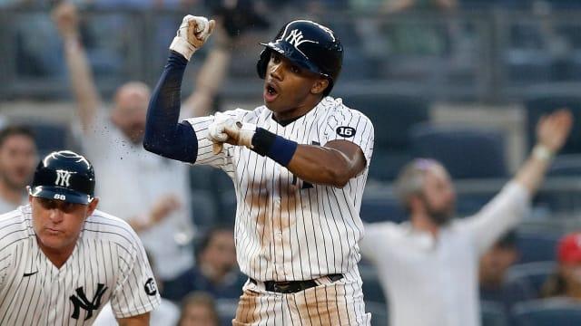 Allen's speed, Florial's pop propel Yankees