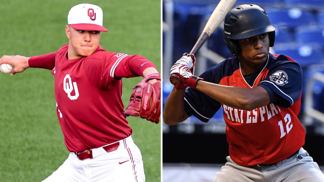 Nationals agree to terms with 6 Draft picks