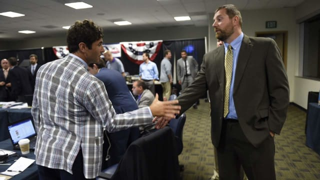 As Padres rise on field, they drop in Draft
