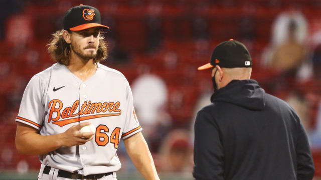 Kremer stumbles, but O's future unfolding
