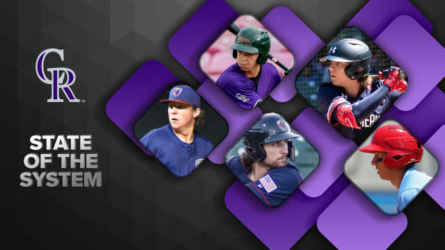 Here's the state of the Rockies' farm system