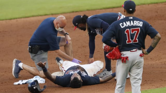 Braves top prospect Pache 'to be a while'
