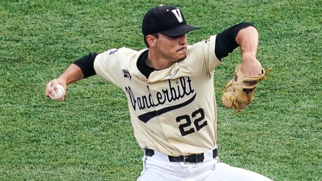 Leiter whiffs 15 over 8 frames in CWS action