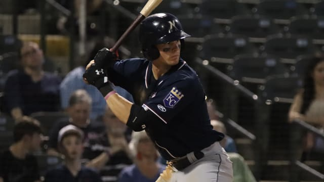 Witt flirts with cycle in three-hit night