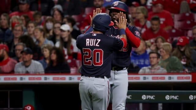Nats' bats heat up as Ruiz slugs another HR