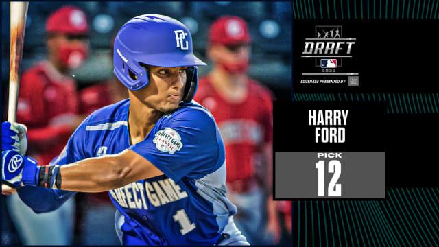 Mariners draft prep C Harry Ford at No. 12