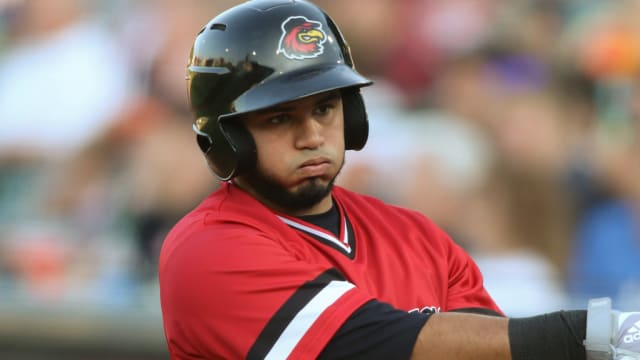 Ruiz tattoos two homers for Red Wings
