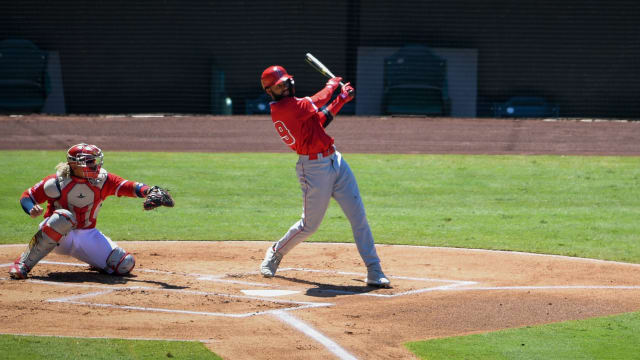 Top prospect Adell impressing at Angels' camp