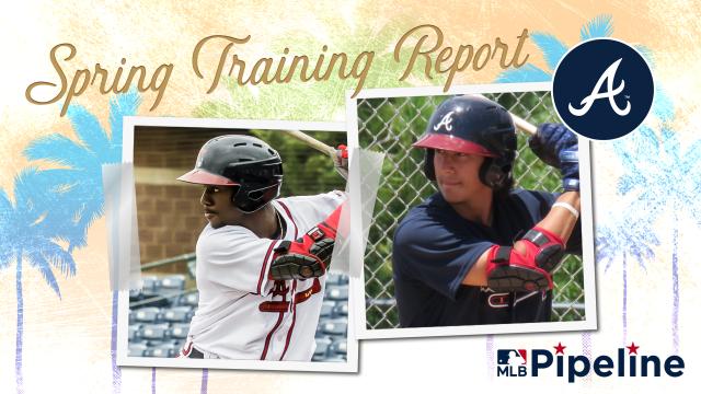 Braves Minor League Spring Training report