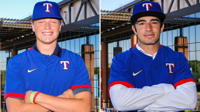 Rangers ink Roby, Saggese; all 5 picks signed