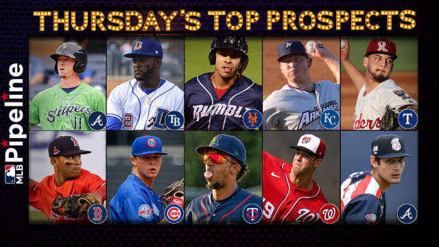 Thursday's top prospect performers