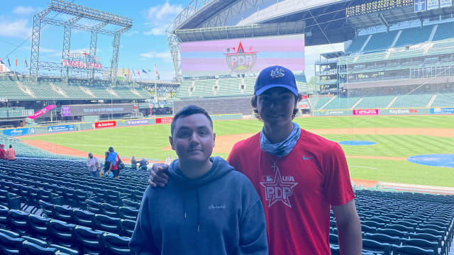 14th-rounder Avina's signing a family affair