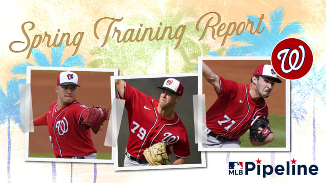 Nats Minor League Spring Training report