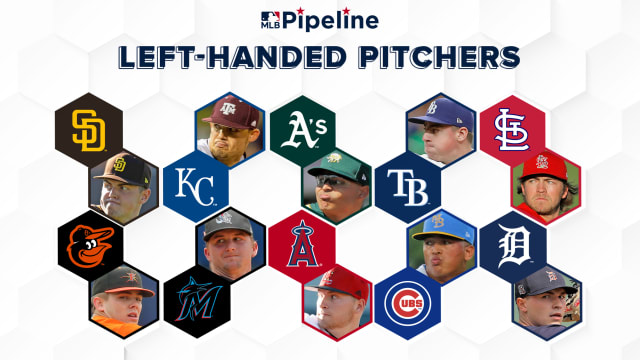 Top farm systems: Left-handed pitchers
