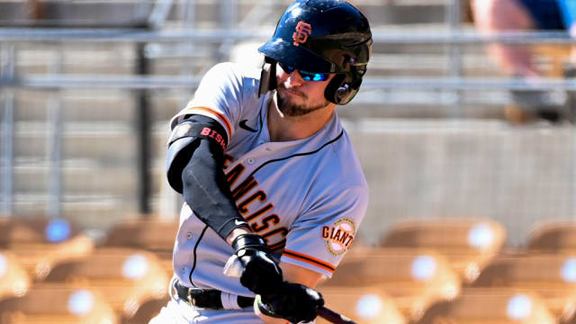Giants' Bishop heating up in Fall League