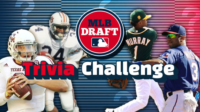 Quiz: NFL players selected in MLB Draft