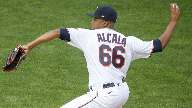'Electric stuff': Alcala making strides in bigs